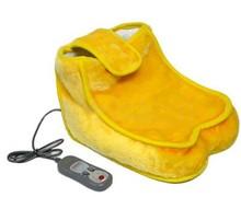 Heating vibrating foot massager