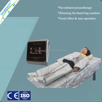 Easy operation air pressure pressotherapy infrared detox machine