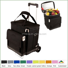 china manufacture black trolly waterproof cooler bag wholesale