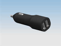 3100mA car charger for blackberry 9900 car charger for sony ericsson car charger for iphone/ipad/ipod