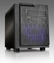 SECC0.6mm hot selling gaming design cube ITX case with chassis size L352*W265*H295mm