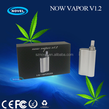 dry herb vaporizer Titan kit / vaporizer Titan Now vapor V1.2 kit / e hookah cigarette 600 puffs kit