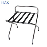 stainless steel hotel room luggage racks,luggage stand for hotel