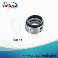 replace John Crane Type 49 PTFE wedge mechanical seal/sealepdm gasket teflon
