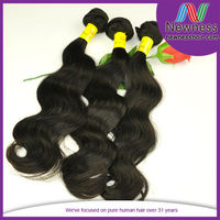 Top Quality 100% Virgin Bleachable Human Extension Indian Hair Body Wave Pictures