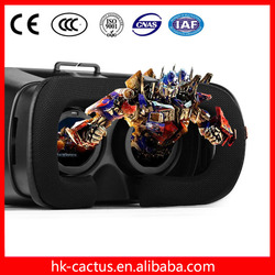 2016 Newest Hottest Google Cardboard Virtual Reality 3D Glasses, 3D Vr Glasses for Smart Phone