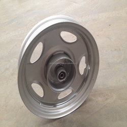Spare parts front/rear rim for India electric rickshaw/ e tricycle from Golden Deer vehicle