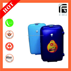 Designer Hard-Shell Luggage/China Manufacturer pp case/Double two wheels for suitcase not PC/ABS