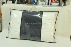household clear plastic carrying case for pillow with different size wholesale