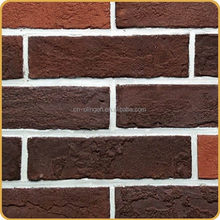 Cement thin brick veneer for outdoors decor