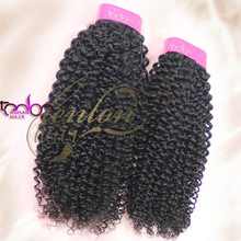 2014 wholesale price beautiful small curl virgin jerry curl weave extensions human hair