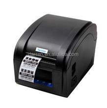 Free shipping by DHL Thermal Line 3~5Inch/Sec USB port Barcode Label Printer, thermal barcode printer XP-360B bar code printer