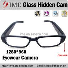 Super Gadget New and Hot Fashion style Eyeglasses Hidden Camera Glsses dv dvr