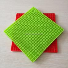 New design mutifunctiona washable silicone soft bbq safety mat
