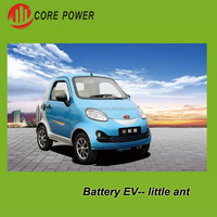 Future adult electric motorcycle type electric car 2 seats Little ant