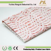 fuzhou new arrive franch white cotton cord lace fabric bulk lace for wedding dress garment wholesale