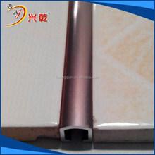 Iso Certificated proteção de borda de alumínio ladrilho perfil
