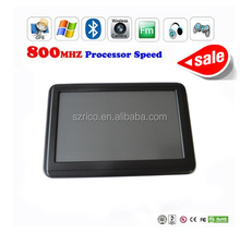 5 inch 3D car portable gps Navigation with 1 year warranty and payment paypal
