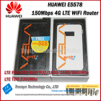New Arrival Original Unlock 150Mbps HUAWEI 4G LTE Mobile WiFi Hotspot Router E5578 Support 800/850/900/1800/2100/2600MHz