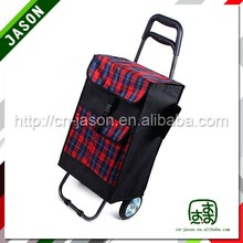 shopping luggage cart european printed shopping bags