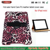 wholesale alibaba Deluxe Keep In Hand Wallet Leather Smart Stand Case Cover With Card Slots Holder For ipad Mini tablets case