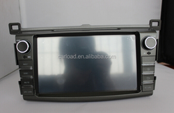 8in 2 din dvd car with gps for toyota rav4 2013 with iPod, dvd, bt, usb, Radio, analog tv, steering wheel control