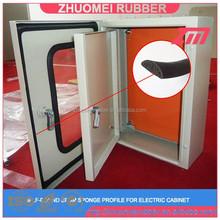 sponge D section rubber for cabinet sealing