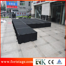 Portable backdrop frame stage for event