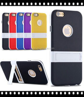 Factory Outlet Mobile Phone Shell TPU+PC Matte With Stand For 6S Case