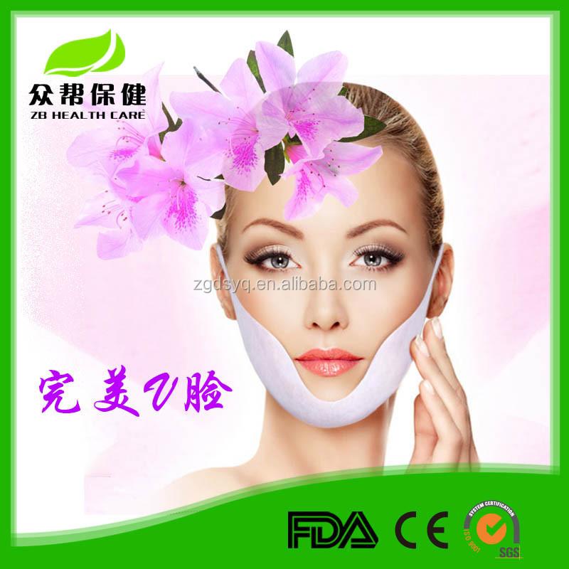 [Fábrica] V linha rosto máscara novo produto para a cara de elevação para cima