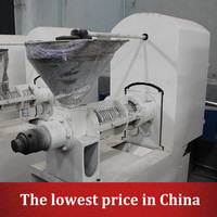 Qie 6YL-160 linseed oil making machine high performance oil press machine