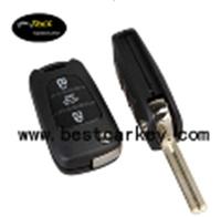 3 button remote key shell for Kia Hold smart key kia remote case TOY40 keyway