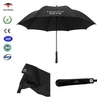 high quality outdoor 1 color 2 position printing 30''8k golf umbrella