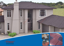 synthetic tile roofing/synthetic thatch roof tile