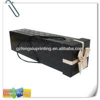Reusable Cardboard wine Packaging Bag in Box for Wine for sale