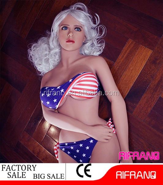 Vente chaude 158 cm vie-taille silicone poupée de sexe pour les hommes
