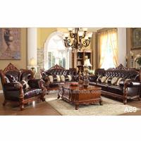 royal classical hotel carving sofa set A89