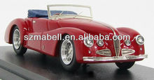 1:18 scale polyresin red color car model