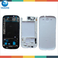 Original Part Housing Replacement For Samsung Galaxy S3 I9300 Full Housing Front Cover+Middle Frame+ Battery Door Cover Complete