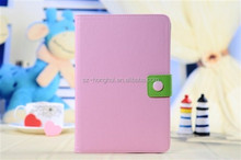 New arrival leather flip case, Tan leather case for ipad mini HH-IPM05-25