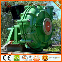 Horizontal slurry pump for mineral processing