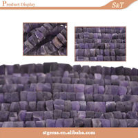Fashion necklace jewelry raw material wolesale factory prices rough stone amethyst