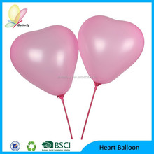 2014 Hot Sale Different Sizes Different Color Latex Balloon / Different Heart Shaped Inflatable Balloon