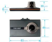 Novatek NTK96220 chip 170 degree Lens HDMI AV-OUT 1080P mental Slim blade Car dash camera/car black box/car