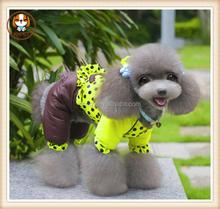 Pet products New double C suit pet four legs cotton-padded clothes winter winter pet dog clothes