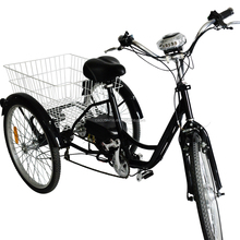 Shopping three wheel bicycle/electric adult tricycle with china supplier