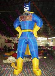 2015 guangdong factory cheap hot sale giant inflatable batman, inflatable Batman model,Super Hero Batman