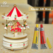Industrial ISO9001 approved High bond strength epoxy resin ab glue for wood