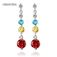 gilded Japanese and Korean women love fashion earrings are hypoallergenic manufacturers long earrings wholesale