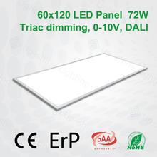 Shenzhen manufacturer silver frame color 4000K square SMD hot sale in 2015 led sky ceiling panel office use